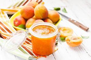 The apricot jam