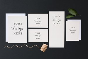 Stock Photo | Wedding invitation set