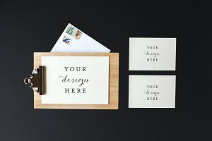 Stock Photo | Invitation set