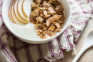 Yogurt Bowl with Buckwheat Granola