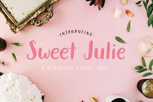 Sweet Julie Font