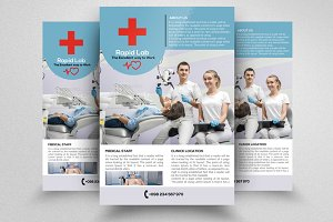 Doctor Care Flyer Psd Template