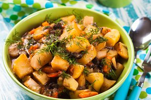 The Vegetable ragout