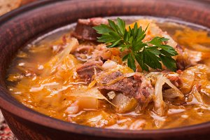 Gombaleves - Chrismtas hungarian soup