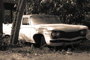 Resting Retro Car