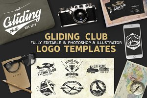 12 Gliding Club Logo Templates