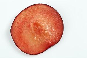 ripe black plum
