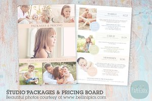 IP009 Photography Pricing Packages