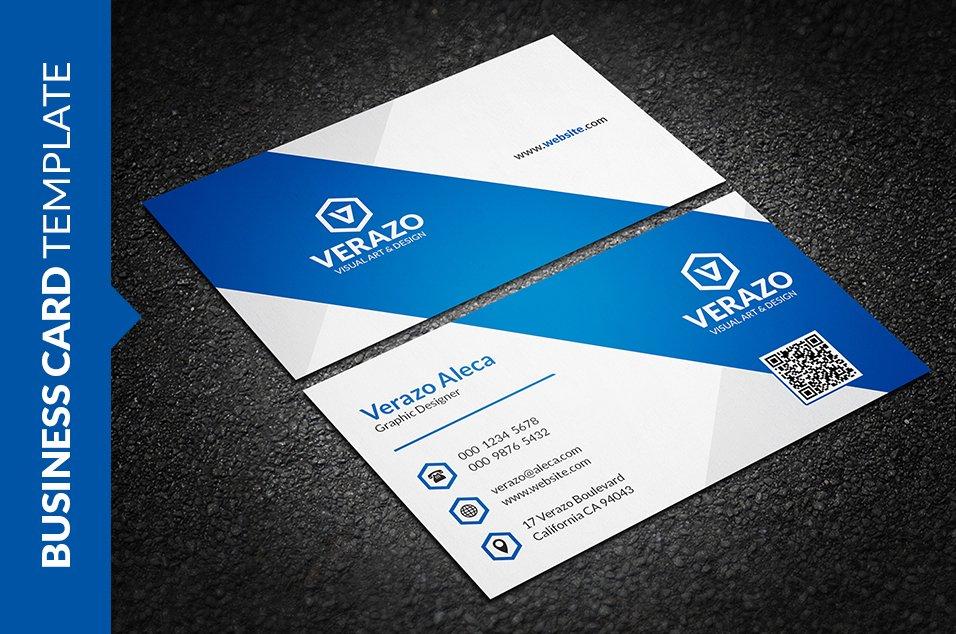 Clean Creative Business Card ~ Business Card Templates ~ Creative ...