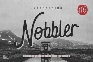 Nobbler Typeface