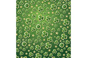 Clover Pattern for St. Patrick's Day