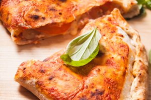 The Pizza calzone