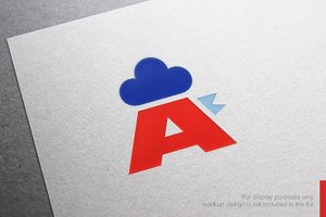 Rooster Letter A Logo