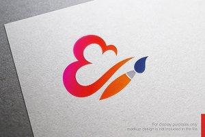 Cloud Art Logo