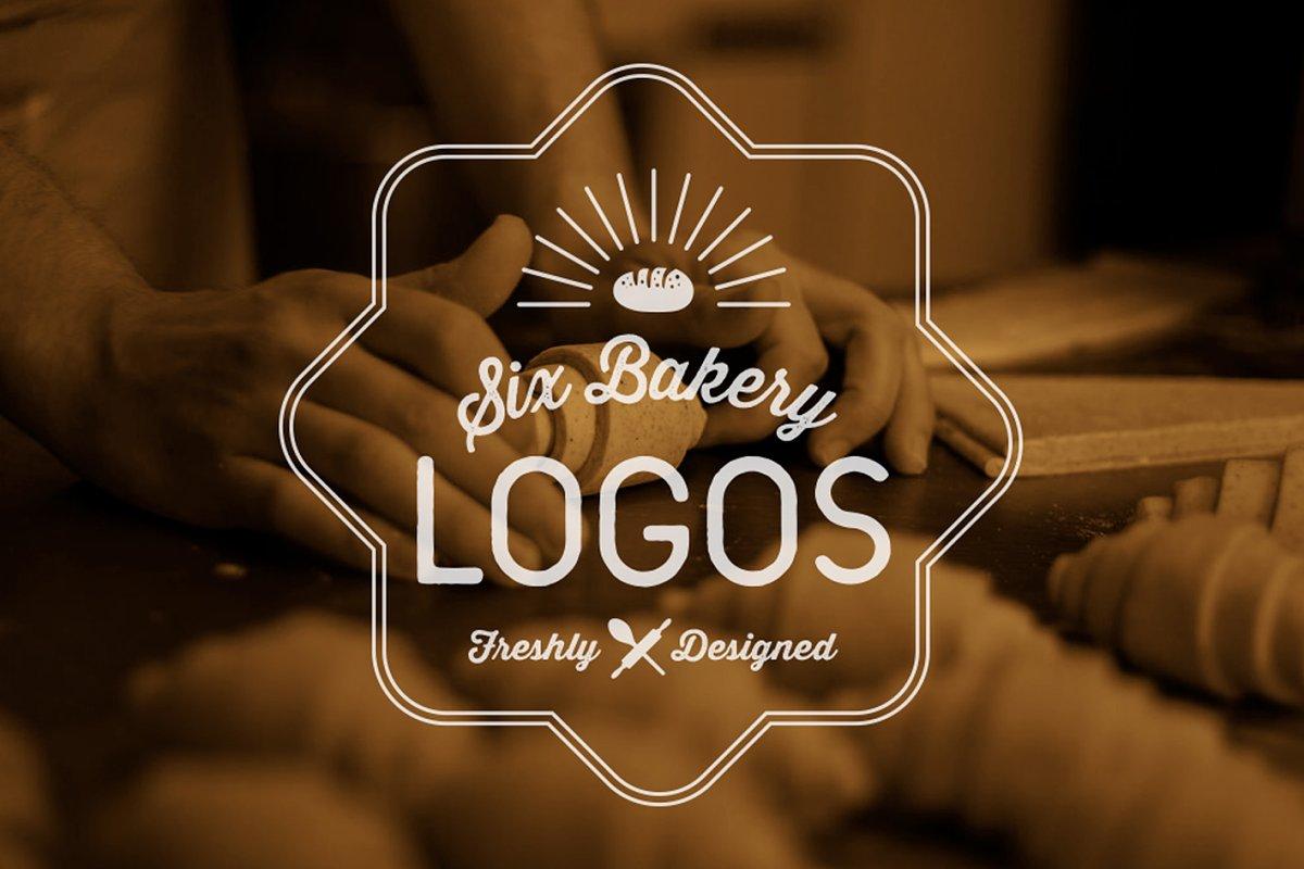 6 Bakery Logos