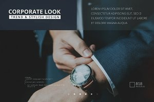 Corporate Glass Slideshow