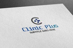 Clinic Plus Style Logo