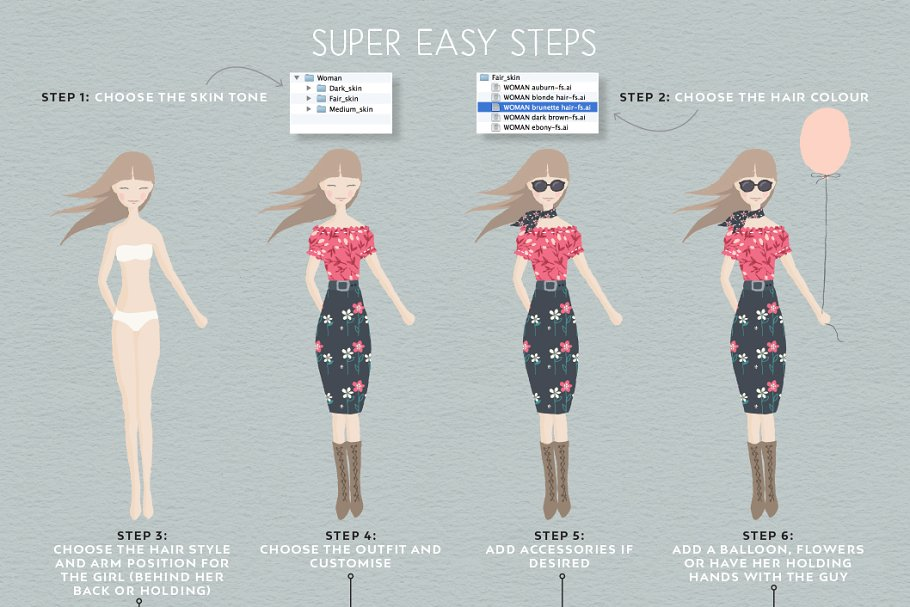 Personalised Portrait Creator in Illustrations - product preview 31