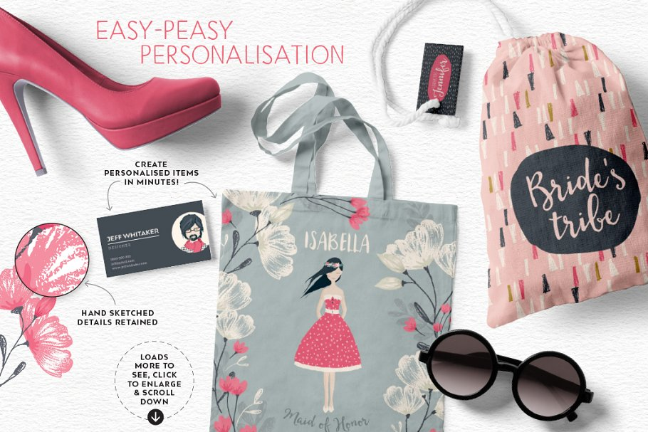 Personalised Portrait Creator in Illustrations - product preview 30