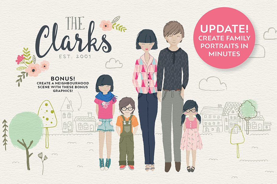 Personalised Portrait Creator in Illustrations - product preview 23