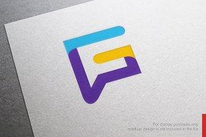 Colorful Letter G Logo