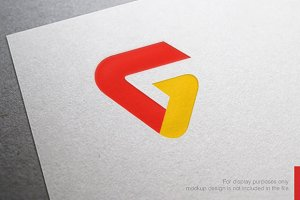 Colorful Letter G Logo