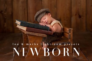 50 Newborn Lightroom Presets