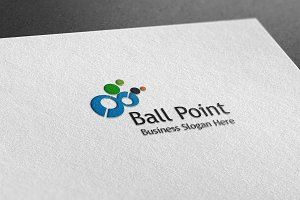 Ball Point Style Logo