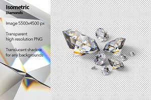 Isometric Diamonds