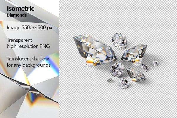 Isometric Diamonds
