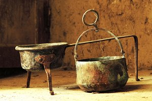 copper kettle pot