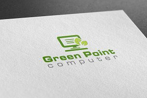 Green Point Computer Logo