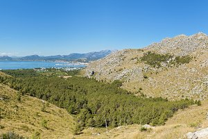 Panorama at Palma de Mallorca
