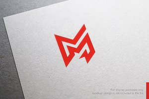 Colorful Letter M Logo