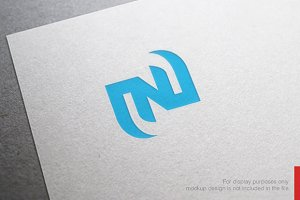 Colorful Letter N Logo