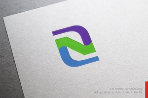 Colorful Letter Z Logo