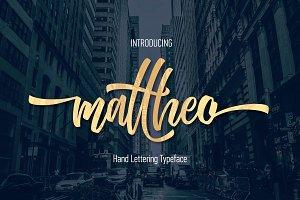 Mattheo Hand Lettering