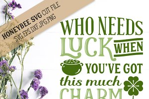 Luck and Charm cut file