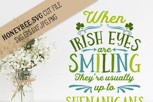 Irish Eyes Shenanigans cut file