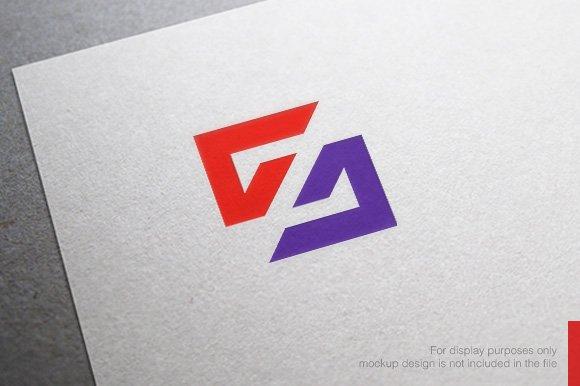 Abstract Letter S Logo Logo Templates Creative Market
