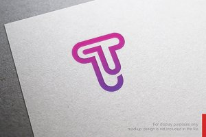 Abstract Letter T Logo