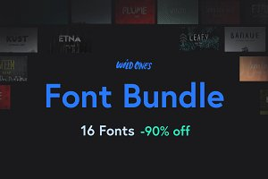 Wildones Font Bundle