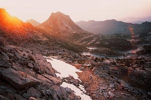 Sunrise over the Enchantments