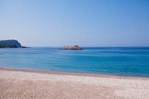 Montenegro seashore beach