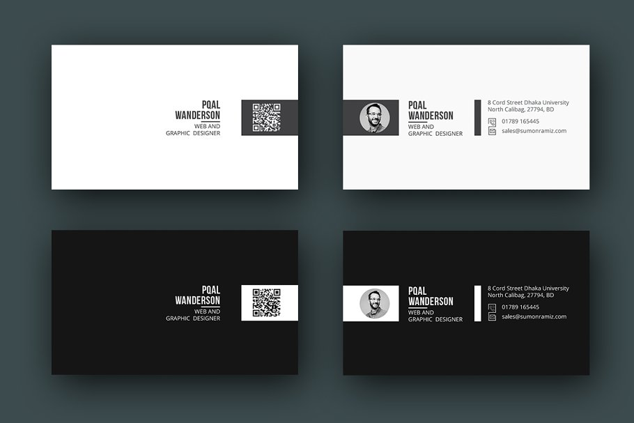 Personal Business Card in Business Card Templates - product preview 6