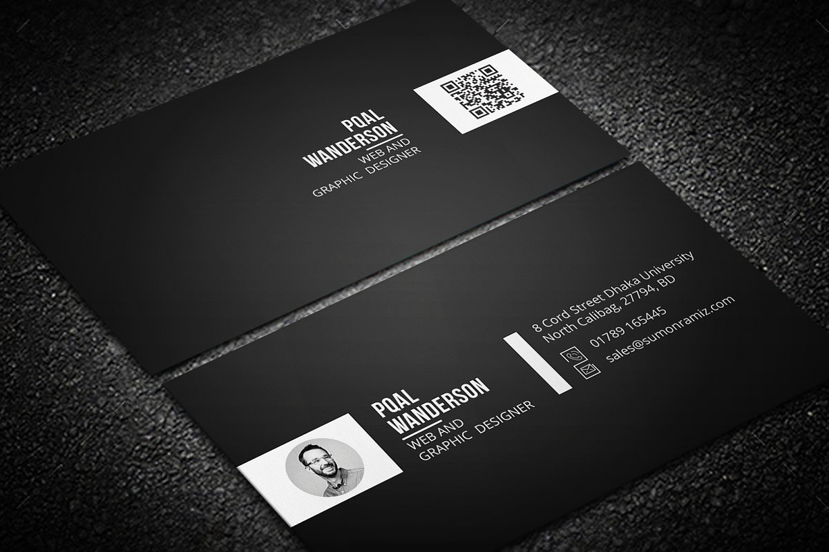 Personal Business Card in Business Card Templates - product preview 5