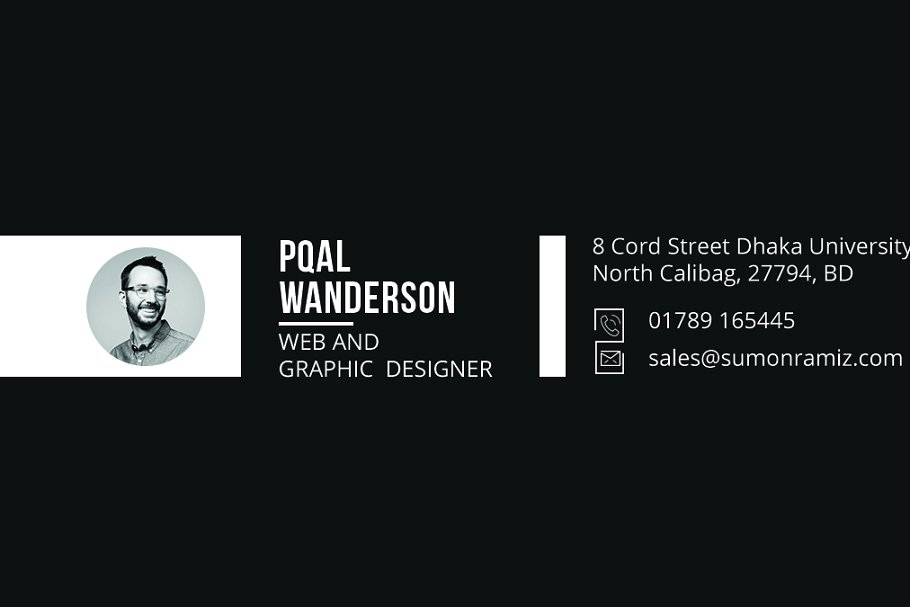 Personal Business Card in Business Card Templates