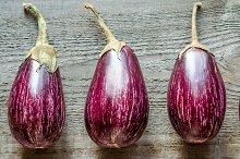 Graffiti eggplants