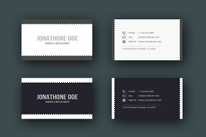 Business Card (2 version)