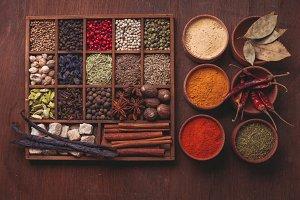 Spice set in box